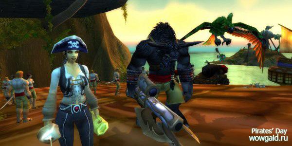 День Пирата в WoW: капитан де Меза