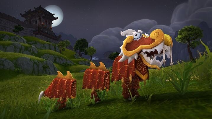 Игрушки Лунного фестиваля в World of Warcraft