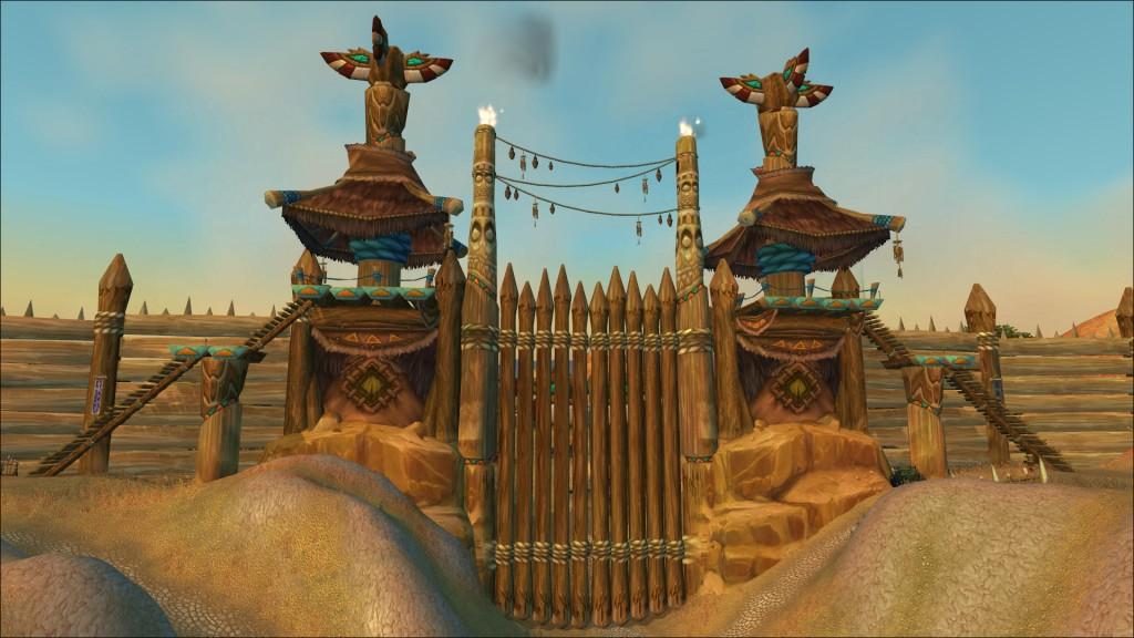 Великие Врата соединяют Мулгор и Степи