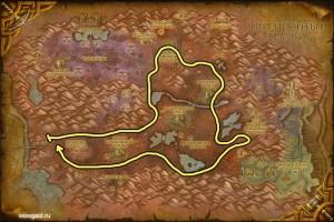 Восточные чумные земли карта