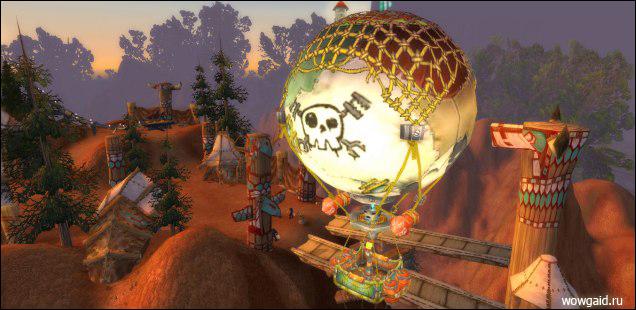 Обзор Инженерного дела в Пандарии - воздушный шар