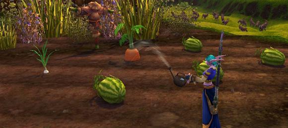 Фракция земледецельв в WoW - уход за овощами