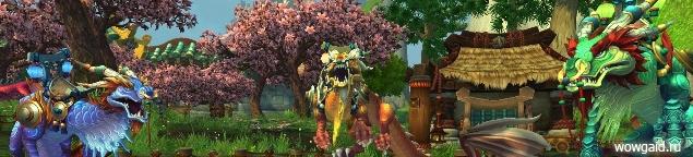 Репутация с Орденом Облачного змея WoW Туманы Пандарии