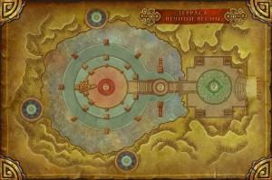 Терраса вечной весны тактика карта