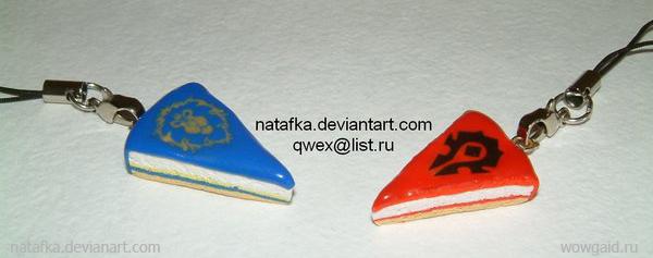 Тортики из полимерной глины