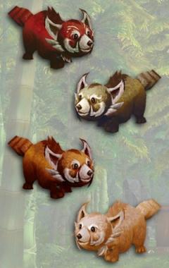 Малые панды - питомцы WoW 5.2