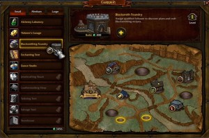 Карта военного лагеря гарнизона