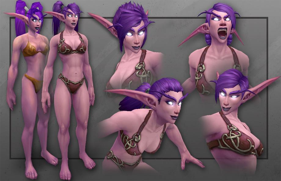 World of warcraft striping blood elf naked download