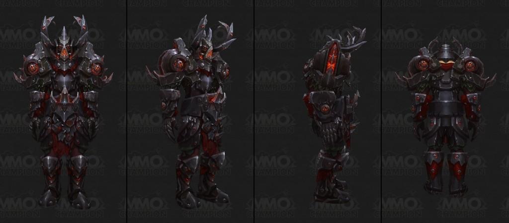Сет Т17 воин Warlords of Draenor