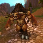 Модель таурена Warlords of Draenor