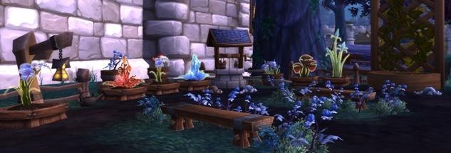 Травяной сад постройка гарнизон гайд