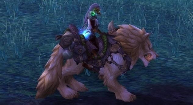 Пеплогривый лютый волк (Кожевничество)