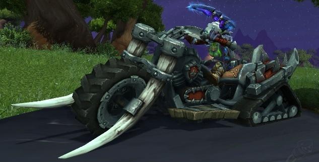 Смертоцикл вождя маунт