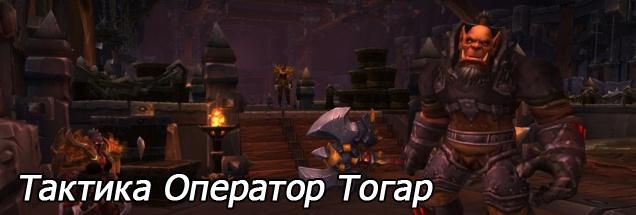 Тактика Оператор Тогар