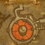 Сфера на карте (вход в Логово крыла тьмы)