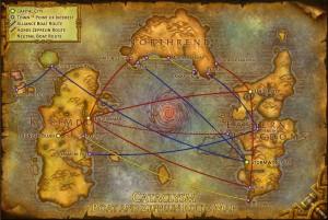 Как добраться до Калимдора из Восточных Королевств