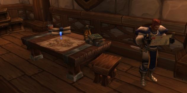 Командирский стол для Дренорского первопроходца