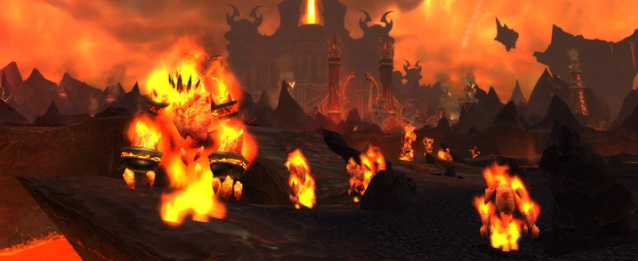 Как попасть в Огненные просторы WoW вход карта