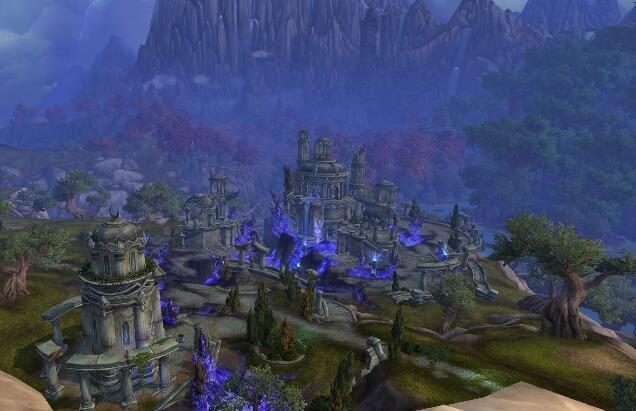 Локация Азсуна в WoW скриншоты видео