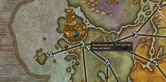 Крепость Черной Ладьи где находится вход WOW