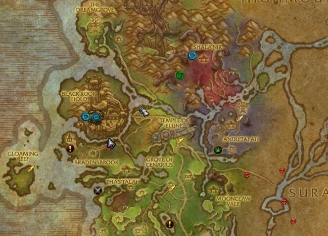 Крепость Черной Ладьи на карте - как попасть в подземелье