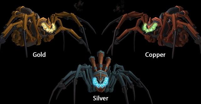 Питомца для охотников 7.1 механические пауки WOW