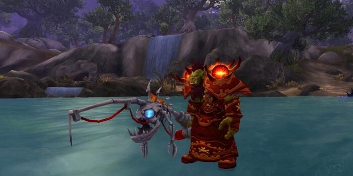 Удочка Темносвета рыболовный артефакт WOW Легион