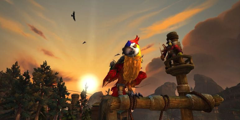 Как летать в WOW Битва за Азерот