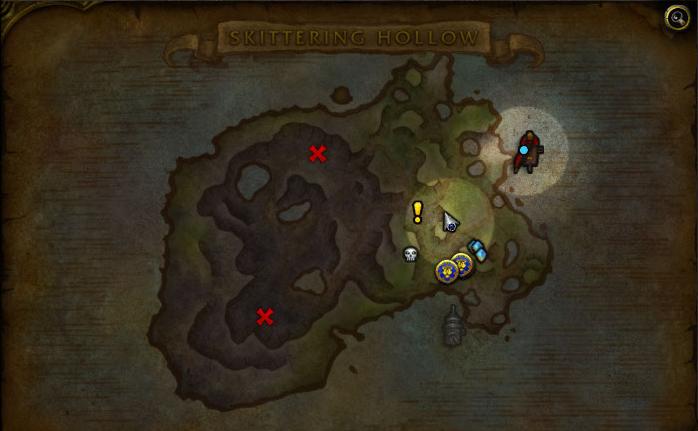 Карта Островной экспедиции