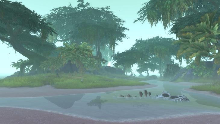 Островные экспедиции: Гниющая трясина