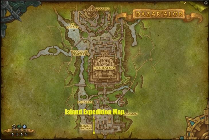 Как встать в очередь на Островную экспедицию за Альянс
