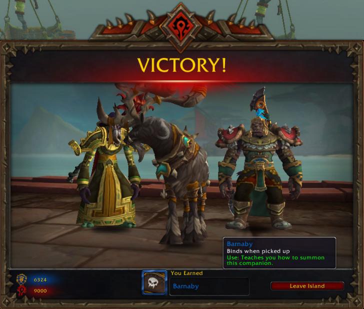 Победа в Островной экспедиции