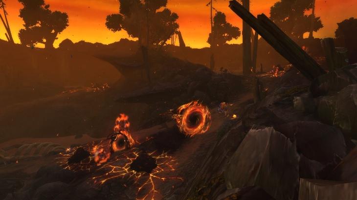Вторжения во время Островных экспедиций: Элементали огня