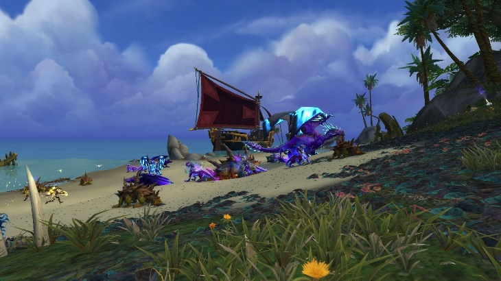 Вторжения во время Островных экспедиций: Сумеречные драконы
