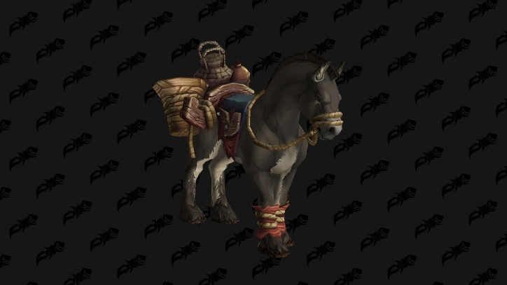 Секреты Кул-Тираса: ездовое животное испуганный мул