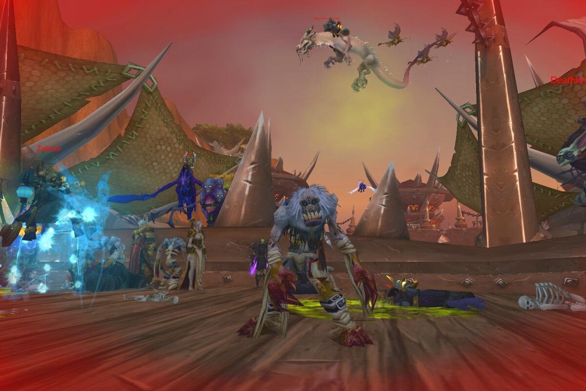 Вурдалаки Вторжение Плети Shadowlands