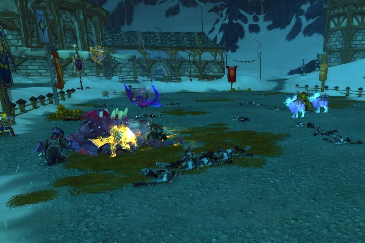 Вторжение Плети в Ледяной короне WoW Shadowlands