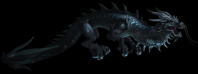 Черный облачный змей, питомец охотника