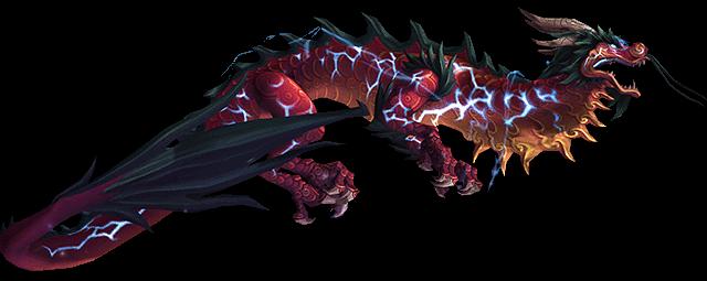 Красный грозовой змей