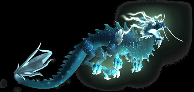 Небесный синий облачный змей