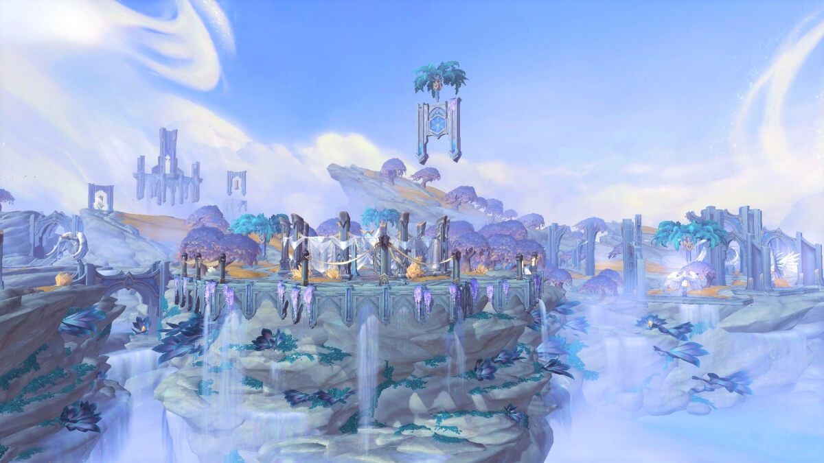 Локация Бастион в WoW Shadowlands