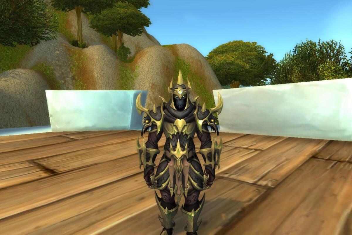 Кожаные легендарки в Shadowlands